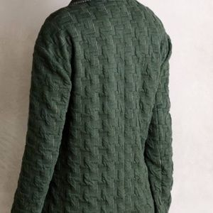 Anthropologie Jackets & Coats - Anthropologie Cartonnier Long Houndstooth Blazer S